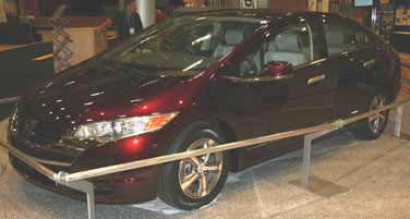 2008 Honda FCX Fuel Cell Vehicle