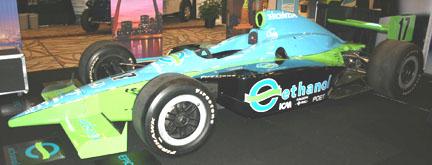 2008 E100 ethanol Honda Indy Rahal Letterman Racing Car