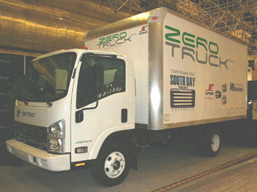 2008 ZeroTruck all electric truck